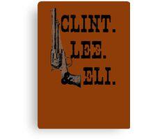 Clint Lee Eli Canvas Print