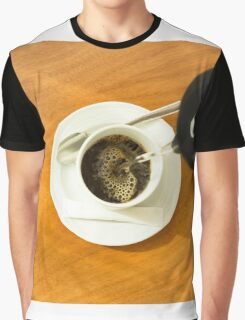 Pouring a cup of coffee Graphic T-Shirt
