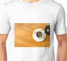 Pouring a cup of coffee Unisex T-Shirt