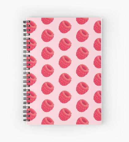 Raspberry Spiral Notebook