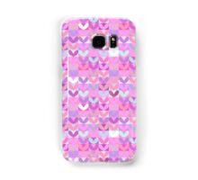 Royal purple crush hearts. Love. Sweet. Violet Samsung Galaxy Case/Skin