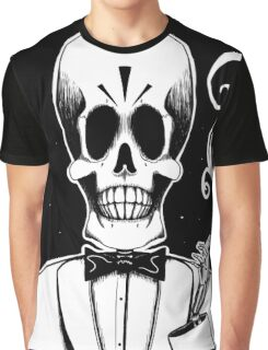 Manny Calavera (Stack's Skull Sunday) Graphic T-Shirt