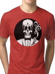 Manny Calavera (Stack's Skull Sunday) Tri-blend T-Shirt