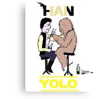 HAN YOLO Canvas Print