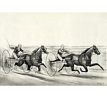 A rush for the heat - Currier & Ives - 1884 Photographic Print