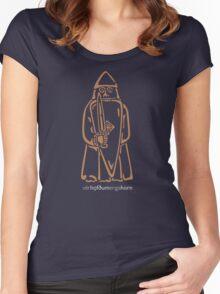 WeHadNoHorns - Berserker Lewis chessmen Women's Fitted Scoop T-Shirt