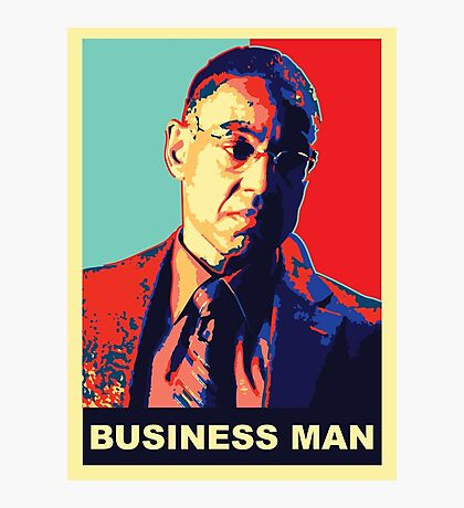 """Breaking Bad: Gus Fring """"Business Man"""" Photographic Print"""