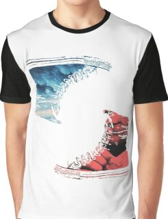 Red And Blue Shoes Graphic T-Shirt
