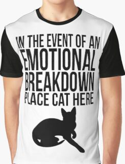 Place cat here Graphic T-Shirt