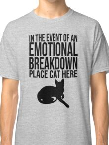 Place cat here Classic T-Shirt