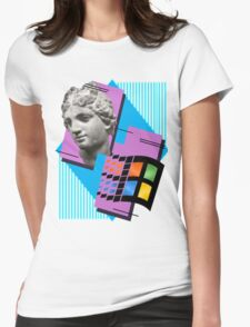 Vaporwave ! Womens Fitted T-Shirt