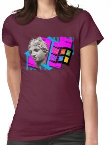 Vaporwave Womens Fitted T-Shirt