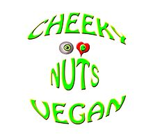 cheeky vegan , i love nuts Photographic Print
