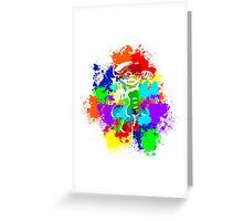 Inkling Callie - Splatter v2 Greeting Card
