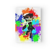 Inkling Callie - Splatter Hardcover Journal