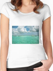 Stingray Adventure Women's Fitted Scoop T-Shirt