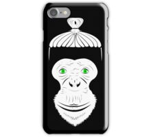 Green Eyed Manbun Monkey iPhone Case/Skin