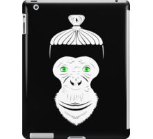 Green Eyed Manbun Monkey iPad Case/Skin