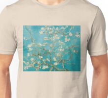 Vincent van Gogh - Branches of an Almond Tree in Blossom Unisex T-Shirt