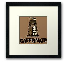 Iskybibblle Products /Dalek Coffee Framed Print