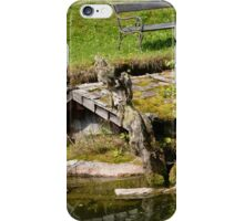 Bench and the Creek iPhone Case/Skin