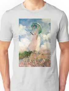Claude Monet - Woman with a Parasol, Study Unisex T-Shirt