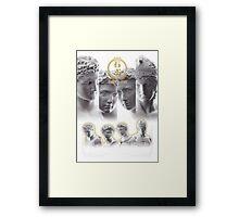 Sekkou Boys Framed Print