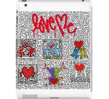 LOVE HARING iPad Case/Skin