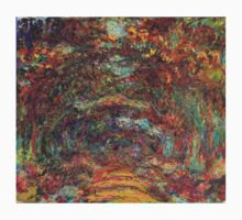 Claude Monet - The Rose Walk, Giverny, 1920-22 Baby Tee