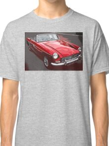 Red convertible MG classic car Classic T-Shirt