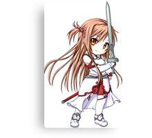 Chibi Asuna Sword Art Online Canvas Print