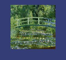 Claude Monet - Water Lilies and Japanese Bridge Unisex T-Shirt