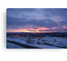 Overlooking St. Johns Canvas Print