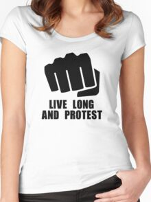 Live Long Women's Fitted Scoop T-Shirt