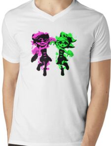 Inklings - Callie and Marie Mens V-Neck T-Shirt