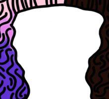 Dollhouse Hair Design  Sticker