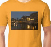 Springtime Amsterdam - Golden Windows In Jordaan Unisex T-Shirt