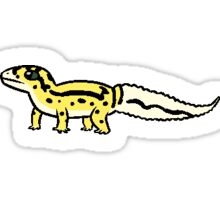 Leopard Gecko - Bandit Sticker
