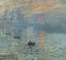Claude Monet - Impression, Soleil Levant by mosfunky