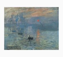 Claude Monet - Impression, Soleil Levant Kids Tee