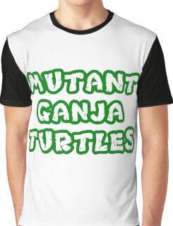 Mutant Ninja Turtles Weed Graphic T-Shirt