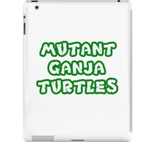 Mutant Ninja Turtles Weed iPad Case/Skin