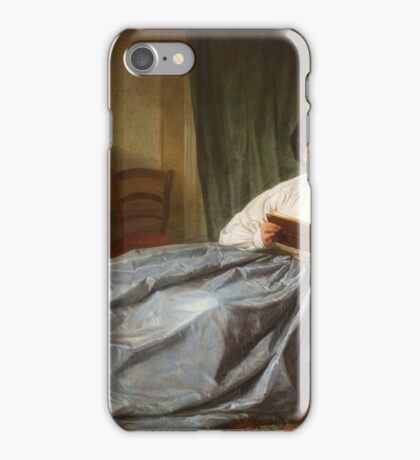 Josep Duran, Barcelona,  Browsing the Album iPhone Case/Skin
