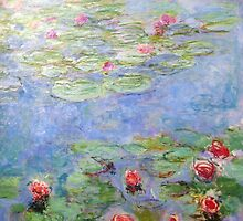 Claude Monet - Water Lilies by mosfunky