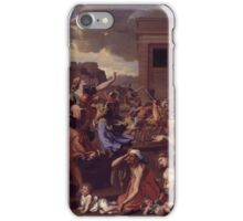 The Abduction of the Sabine Women Artist Nicolas Poussin iPhone Case/Skin