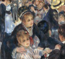 Pierre-August Renoir - Bal du moulin de la Galette Sticker
