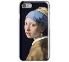 Johannes Vermeer - Girl with a Pearl Earring iPhone Case/Skin