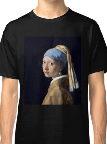 Johannes Vermeer - Girl with a Pearl Earring Classic T-Shirt