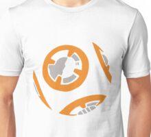 Orange and Grey Color Block Unisex T-Shirt