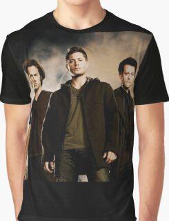 Supernatural Trio Graphic T-Shirt